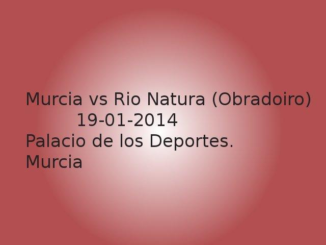 CB Murcia vs Rio Natura